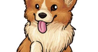 Рисунки для срисовки милые собачки (25 фото)