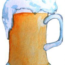 Рисунок карандашом кружка пива (20 фото)