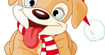 Картинки для срисовки фломастером собаки (19 фото)