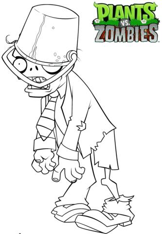Картинки для срисовки Растения против зомби (20 фото ...