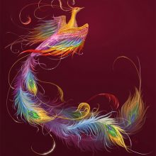 Рисунки карандашом жар птица (25 фото)