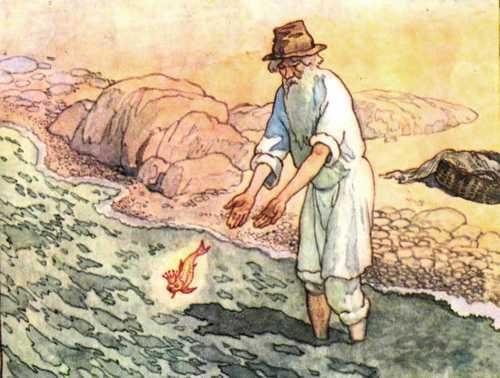 """Рисунок карандашом сказка """"Золотая рыбка"""" (20 фото ..."""