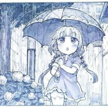 Рисунки карандашом для начинающих девушка с зонтом (15 фото)