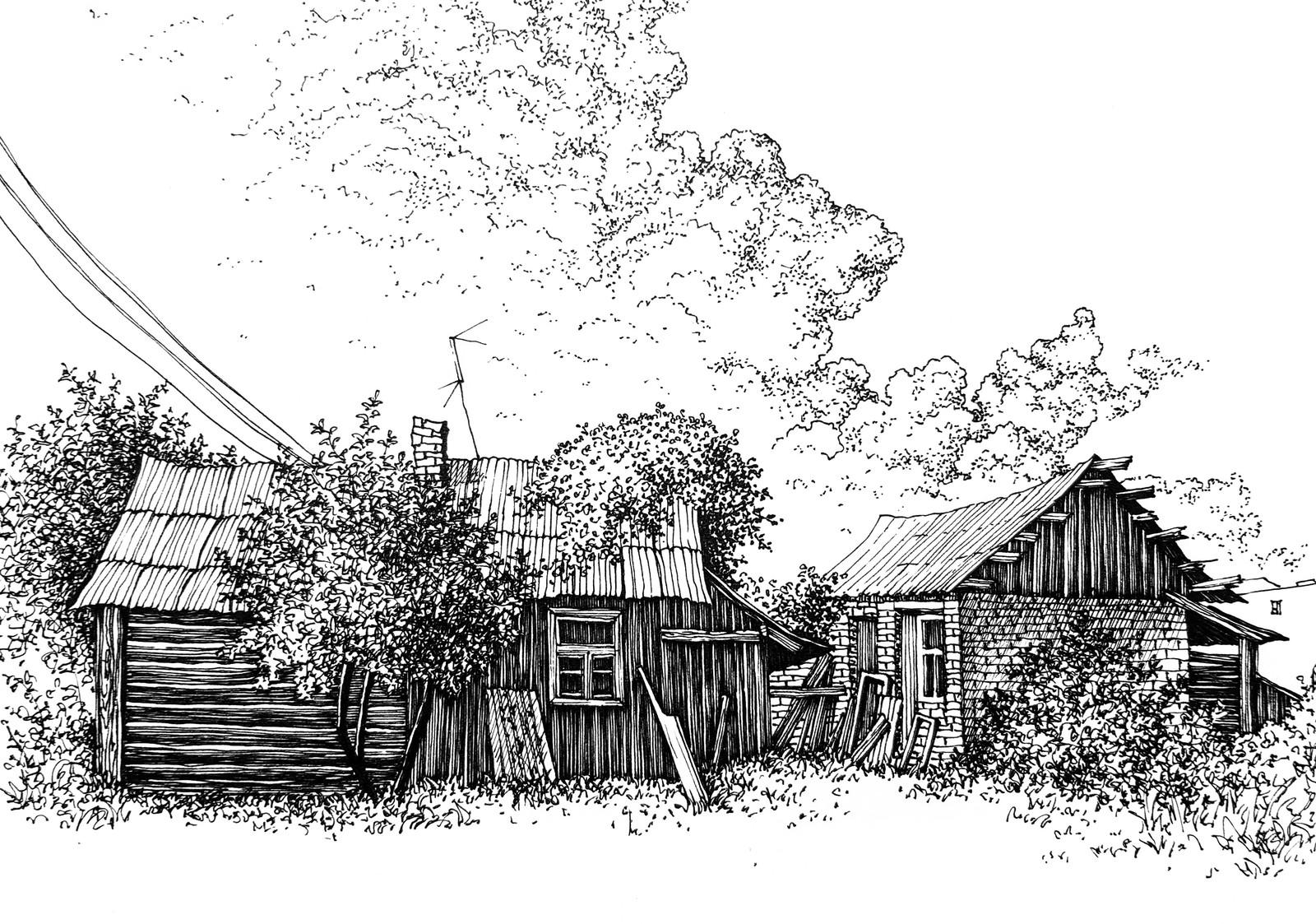 ефремова картинки лето в деревне карандашом как-то нам сделать