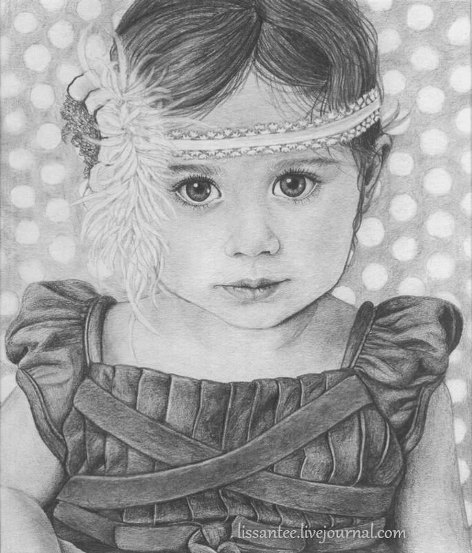Картинки которые нарисовали дети карандашом