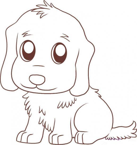 приобретение срисовывать рисунки собачку растения