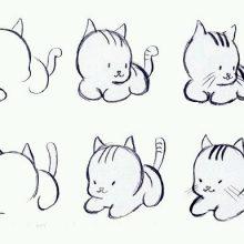 Смешные рисунки карандашом для детей (34 фото)