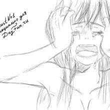Рисунки карандашом слезы (26 фото)