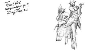 Рисунки карандашом эльф (35 фото)