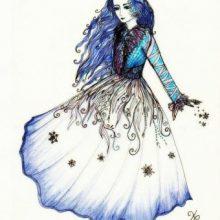 Рисунки карандашом Снежная Королева (32 фото)
