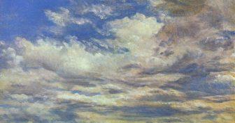 Рисунки карандашом облака (28 фото)