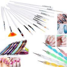 Рисунки карандашом лак для ногтей (24 фото)