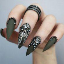 Красивые картинки для срисовки на ногти (34 фото)
