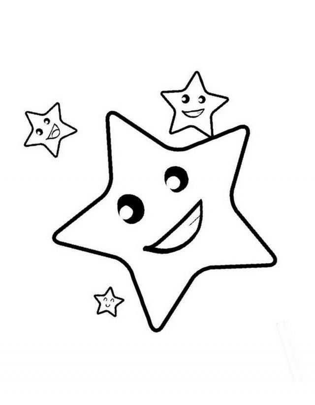 Простые звездочки картинки