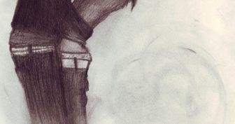Рисунки карандашом объятия (32 фото)