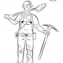 Рисунки ко дню шахтера карандашом (24 фото)