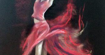 Рисунки для срисовки танцующей девочки (32 фото)