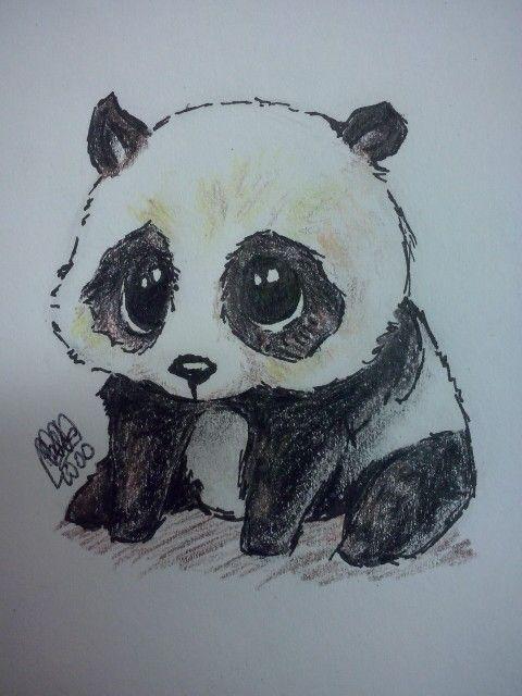 Картинки панды что бы нарисовать