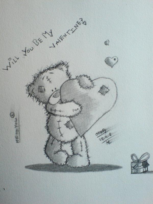 Картинка в карандаше с надпись скучаю