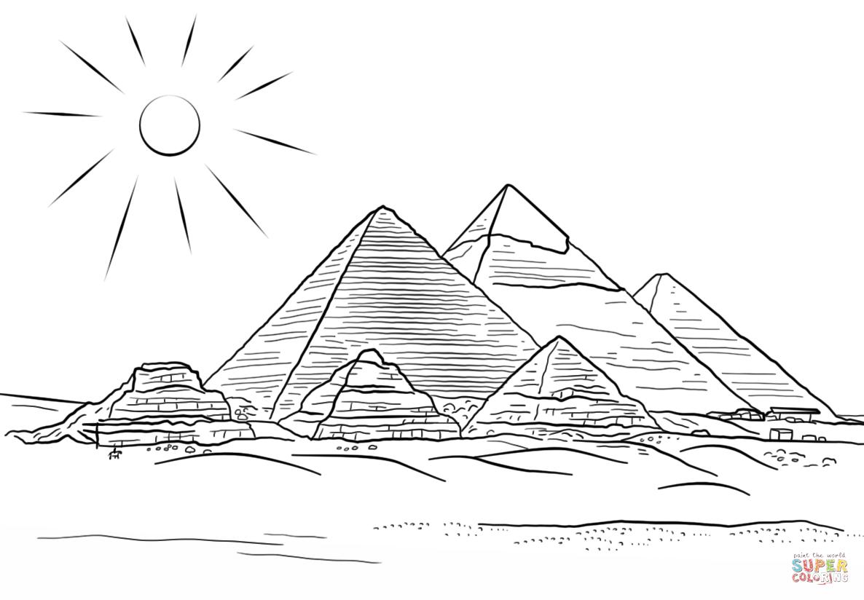 касается египет рисунок карандашом это