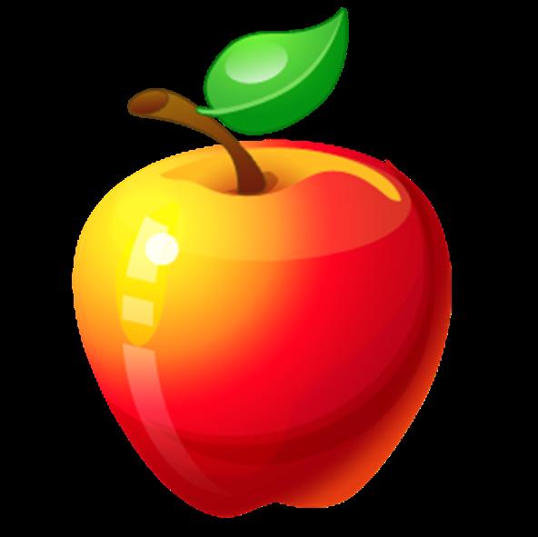Рисунки карандашом для детей яблоки (18 фото) 🔥 Прикольные ...