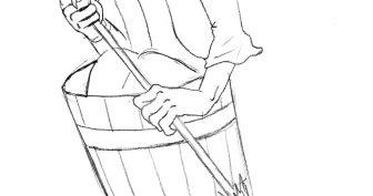 Рисунки карандашом для детей Баба Яга (32 фото)
