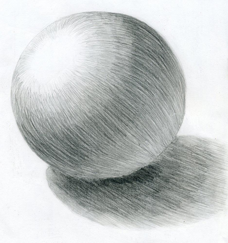 Картинки карандашом с тенями