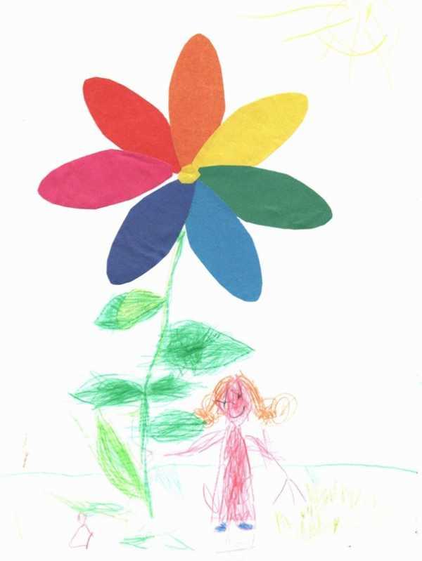 Семицветик картинки карандашом