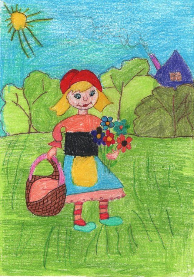 Детские рисунки детей картинки