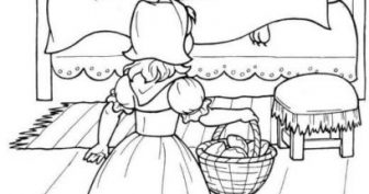 Рисунки карандашом «Красная шапочка» (34 фото)