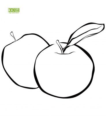 Рисунки карандашом яблоко (21 фото) 🔥 Прикольные картинки ...