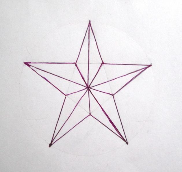 этой картинки звезда как нарисовать накидывается