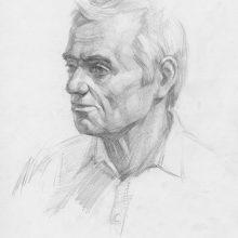 Рисунок мужского лица карандашом (25 фото)