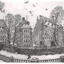 Рисунки карандашом город Петербург (15 фото)