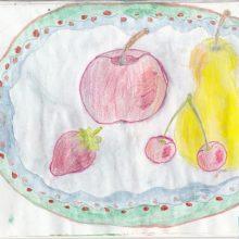 Детский рисунок карандашом натюрморт (31 фото)