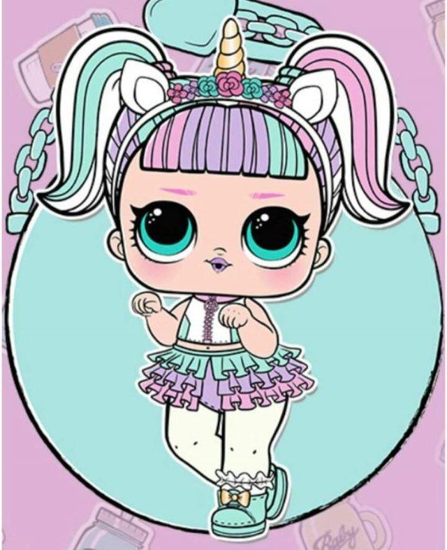 Рисунки куклы Лол маленькие сестрички для срисовки (23 ...