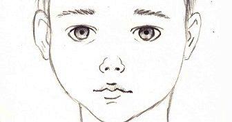 Рисунки карандашом лицо мальчика (23 фото)