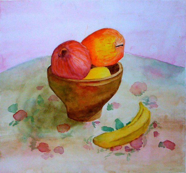 вкусом натюрморт рисунки для начинающих красками первой фотографии причал