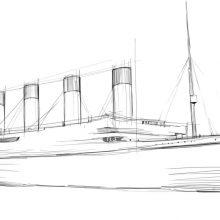 Рисунки карандашом Титаник (34 фото)