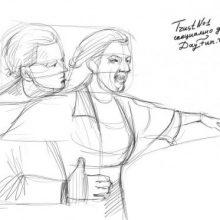 Рисунки карандашом Роза из Титаника (22 фото)