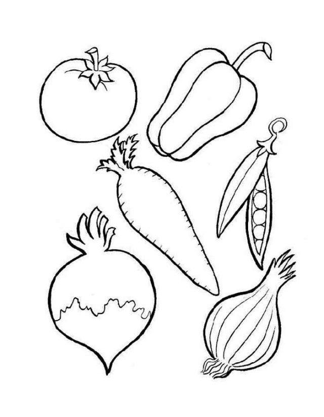 Рисунки овощи карандашом для детей (31 фото) 🔥 Прикольные ...