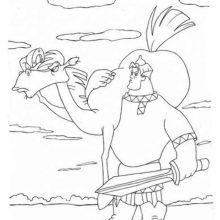 Рисунки для срисовки конь Юлий (18 фото)