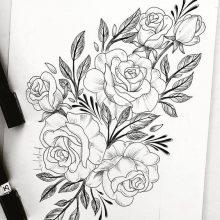 Рисунки карандашом простые узоры (32 фото)