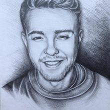 Рисунок для срисовки Егор Крид (19 фото)