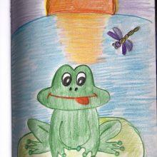 Рисунки к сказке «Лягушка путешественница» карандашом (17 фото)