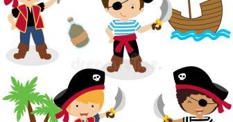 Рисунки пиратов для детей (32 фото)