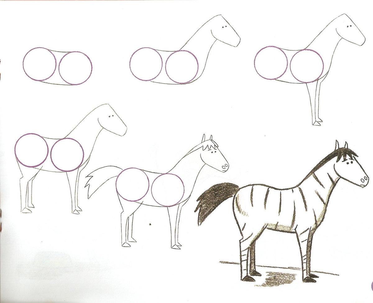 обучающие картинки для рисования карандашом биография информация