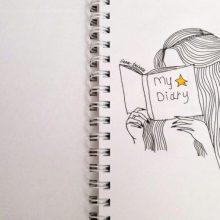 Милые рисунки черной ручкой для срисовки (29 фото)