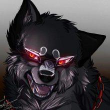 Рисунки магического волка демона для срисовки (24 фото)