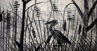 Рисунки угольным карандашом (32 фото)